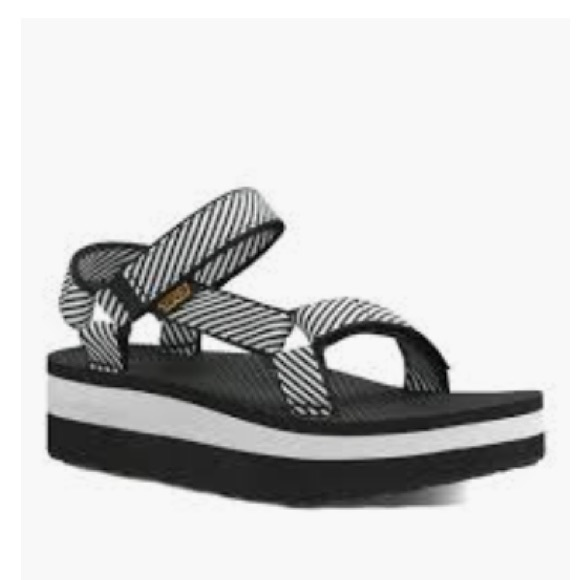 Teva Shoes   Teva Platform Candy Stripe